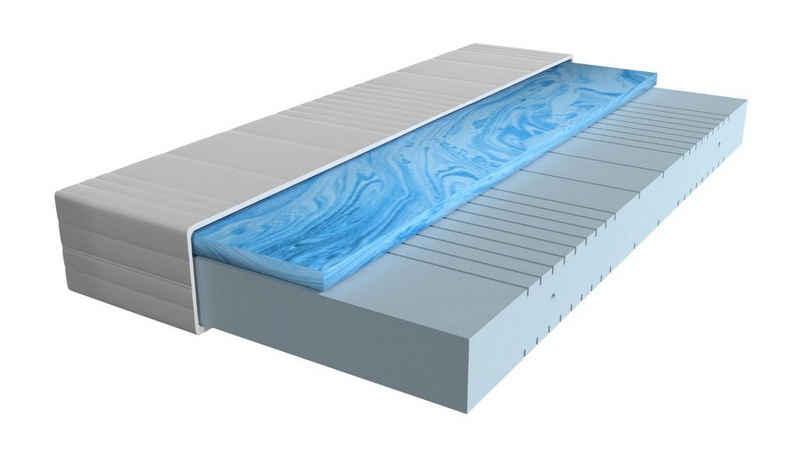 Gelschaummatratze »7-Zonen Gelschaummatratze«, AM Qualitätsmatratzen, 20.0 cm hoch, Raumgewicht: 50, 160x200 cm