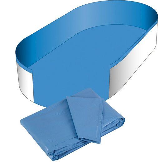 CLEAR POOL Pool-Innenhülle für Ovalformbecken, 0,6 mm Stärke, in versch. Größen