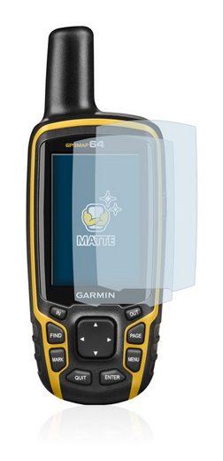 BROTECT Schutzfolie »für Garmin GPSMAP 64«, (2 Stück), Folie Schutzfolie matt entspiegelt