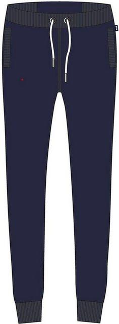 Hosen - Superdry Jogginghose »ORANGE LABEL JOGGER NS« mit dezenter Logostickerei › blau  - Onlineshop OTTO