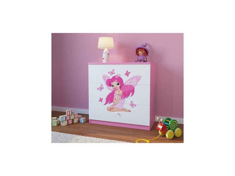 Bjird Kommode »Babydream« (mit 3 Schubladen), Breite 80 cm, verschiedene Farben und Motive