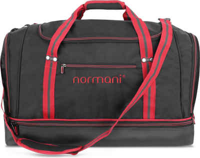 normani Sporttasche »Sporttasche 90 l Nordpass«, Trainingstasche mit 5 Fächern