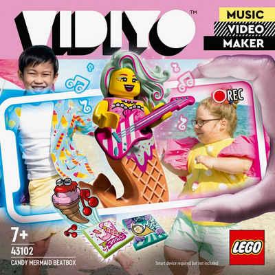 LEGO® Konstruktionsspielsteine »Candy Mermaid BeatBox (43102), LEGO® VIDIYO™«, (71 St), appfähig durch die LEGO® VIDIYO™ App