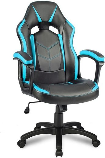 Merax Gaming Chair »Future I«, Ergonomischer Racing Stuhl Bürostuhl Atmungsaktiv Chefsessel Schreibtischstuhl