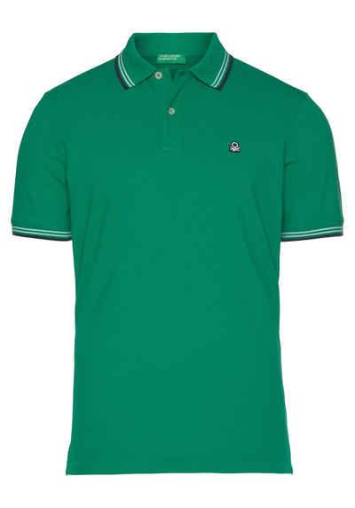 United Colors of Benetton Poloshirt mit Farbakzenten