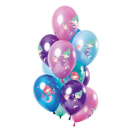 Folat Luftballon »Luftballons Sweet Mermaid 30 cm, 12 Stück«