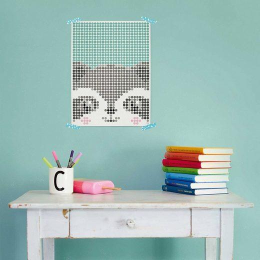 Dot On Malvorlage »dot on art kids - waschbär, 30 x 40 cm«