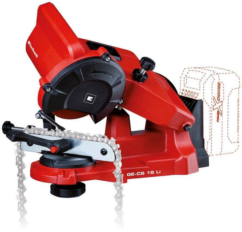 Einhell Sägekettenschärfgerät »GE-CS 18 Li-Solo«, für alle gängigen Sägeketten, ohne Akku und Ladegerät