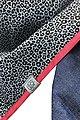 Wishproject® Dreieckstuch »Damen XXL-Tuch, Wild & Funky, Leo Blau« Made in Germany, Label aus recyceltem Meeresplastik, Fair Wear, hochwertige Ausführung, Bild 3