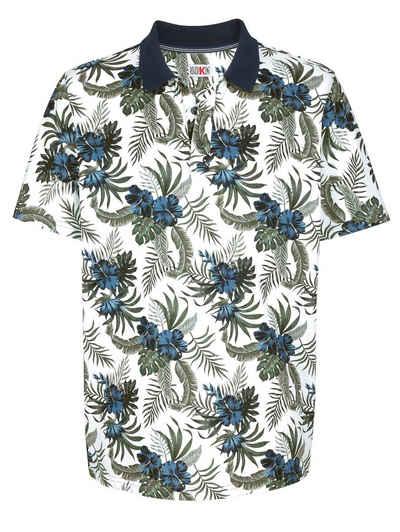 Roger Kent Print-Shirt mit modischem Blumendruck
