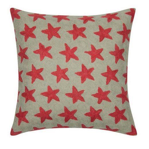 PAD Kissenhülle »Jacky 40 x 40 cm«, Sternen Muster, gestickt