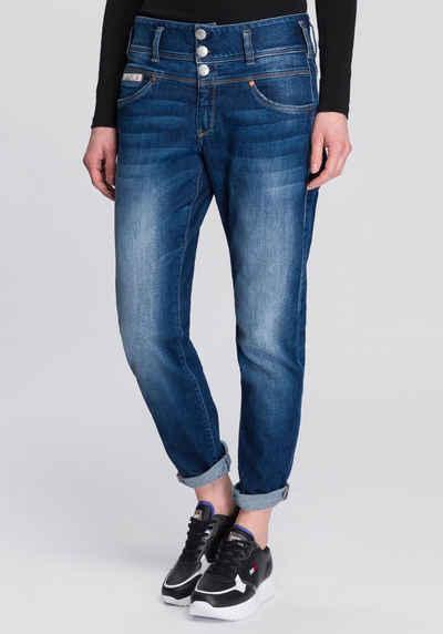 Herrlicher Boyfriend-Jeans »RAYA BOY ORGANIC« umweltfreundlich dank Kitotex Technology