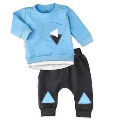 Baby Sweets Shirt & Shorts »2tlg Set Shirt + Hose Lieblingsstücke Triangle« (2-tlg)