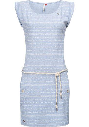 Ragwear Sommerkleid »Tag Waves« leichtes Kleid mit maritimem Wellen-All-Over-Print