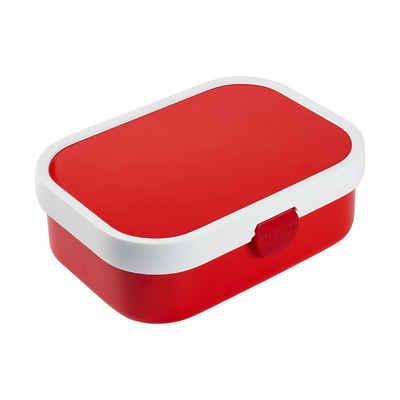Mepal Lunchbox »CAMPUS Brotdose mit Gabel rot«, Acrylnitril-Butadien-Styrol (ABS), (1-tlg)