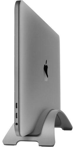 Twelve South BookArc ist ein MacBook-Ständer in schönem Design, hergestellt aus schwerm, pulverbeschichteten Stah Notebook