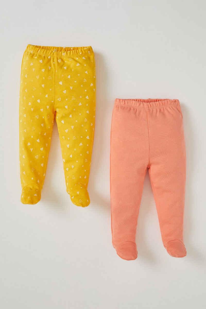 DeFacto Leggings »BabyGirl Hose REGULAR FIT« (Packung, 2-tlg)