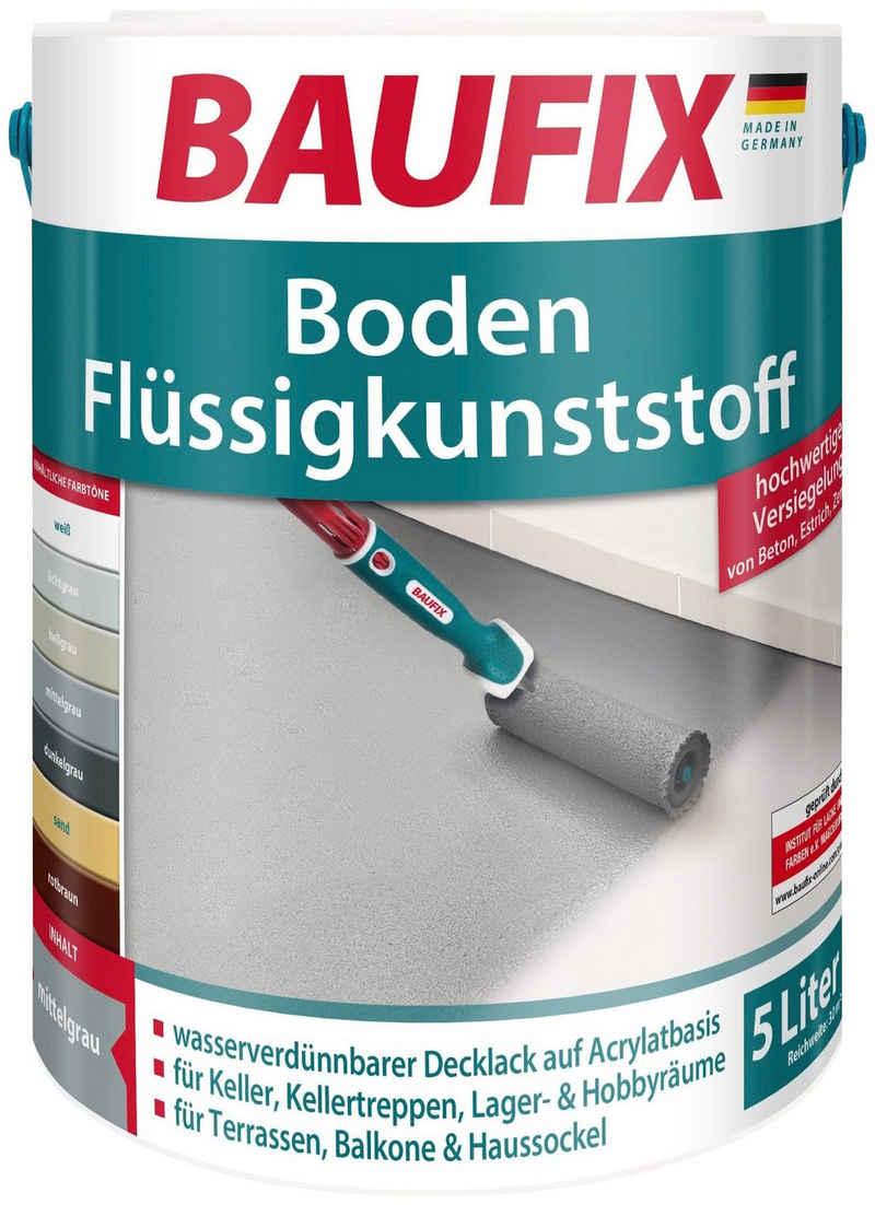 Baufix Acryl-Flüssigkunststoff »Boden-Flüssigkunststoff«, 5 Liter, geeignet für Beton, Estrich und Zement, auf Acrylatbasis