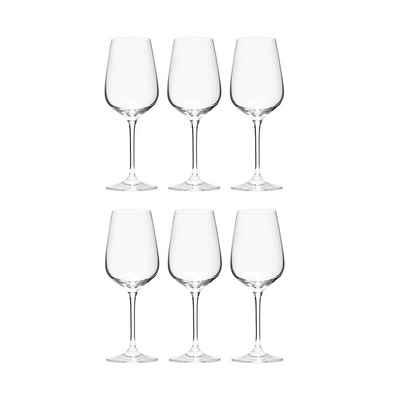 BUTLERS Rotweinglas »SANTÉ 6x Rotweinglas 480ml«, Kristallglas