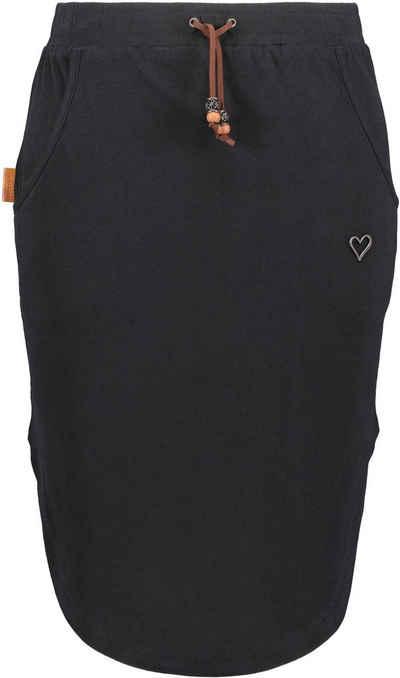 Alife & Kickin Sommerrock »Holly« femininer Jerseyrock mit Seitentaschen