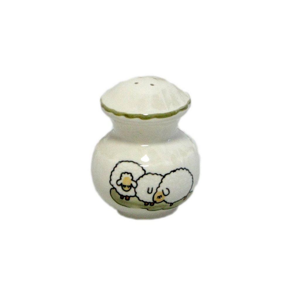 Zeller Keramik Streuer »Schäfchen« in Weiß