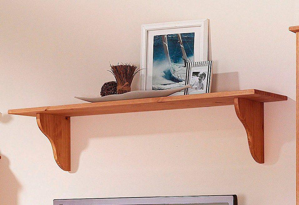 Wandbord, Home affaire, Breite 120 cm in hell gewachst