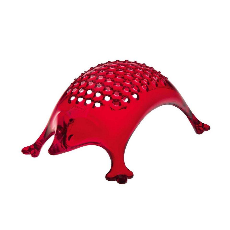 Koziol Käsereibe »Kasimir« in Rot