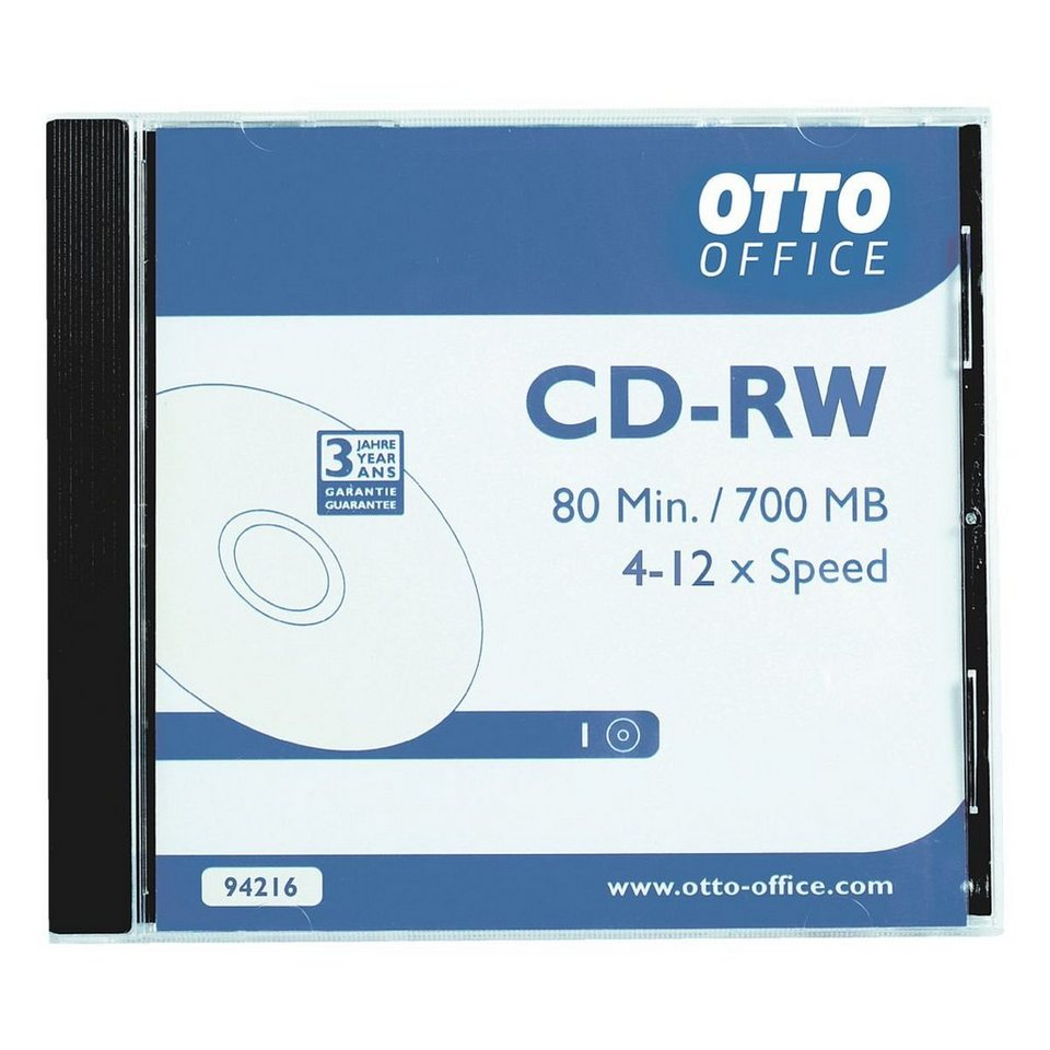 OTTO Office Standard CD-Rohlinge »CD-RW«, 10er-Pack