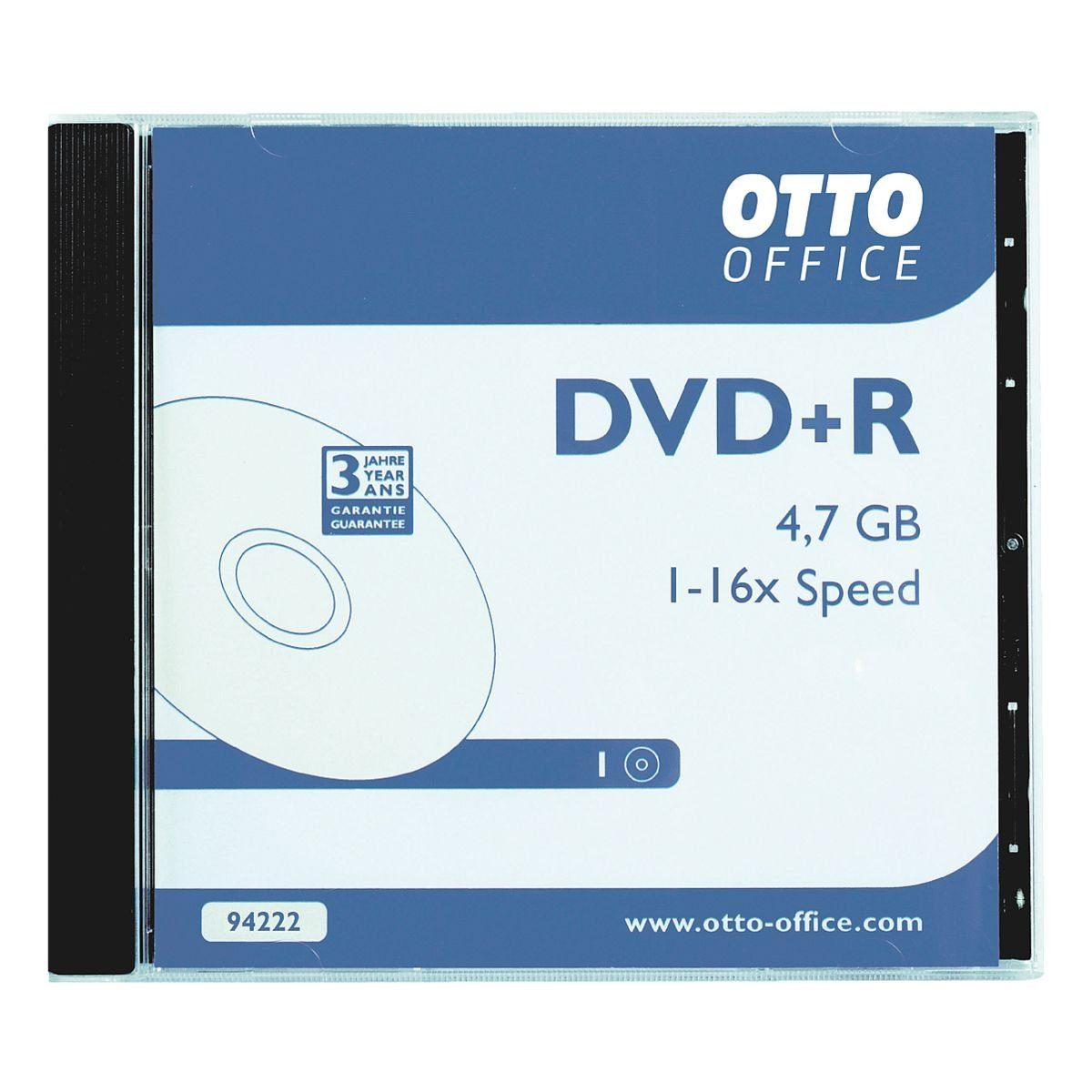 OTTO Office Standard DVD-Rohling »DVD+R«, 10er Pack