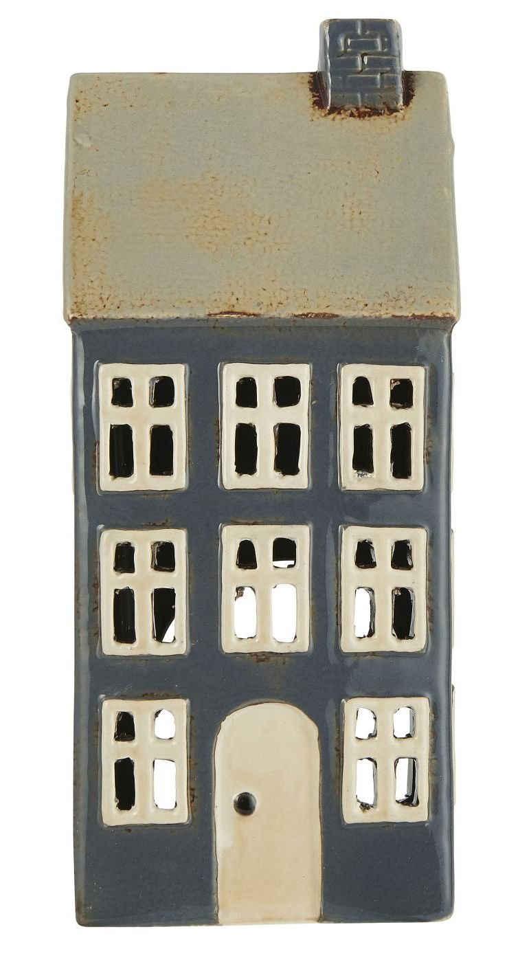 Ib Laursen Kerzenhalter »Lichterhaus Teelichthalter Teelichthaus Windlicht Haus H 23cm Ib Laursen 2763-34«