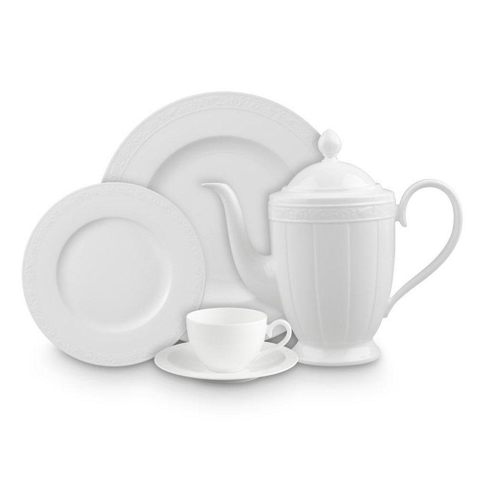 VILLEROY & BOCH Suppen-Untertasse »White Pearl« in Weiss