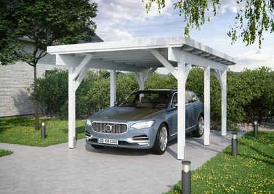 Kiehn-Holz Einzelcarport »KH 300 / KH 301«, 225 cm Einfahrtshöhe, Stahl-Dach, versch. Farben