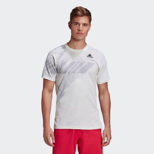 adidas Performance T-Shirt »FREELIFT PRINTED TENNIS HEAT.RDY T-SHIRT«