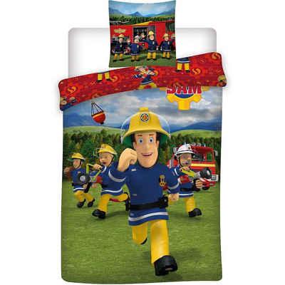 Bettwäsche »Kinder Wende-Bettwäsche Feuerwehrmann Sam,«, Feuerwehrmann Sam