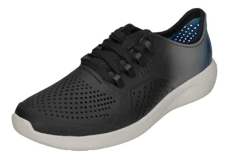 Crocs »LiteRide ColorDip Pacer« Sneaker Black Almost White