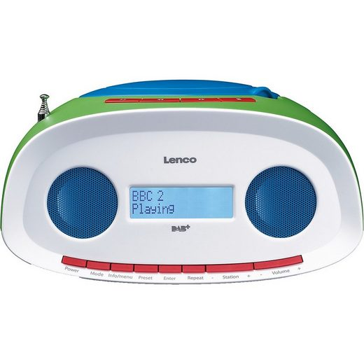 Lenco »SCD-70 - Boombox Kinder CD/MP3-Player mit« CD-Player