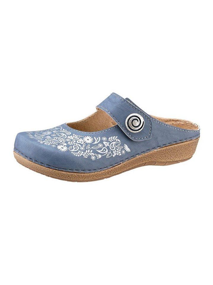 Clogs - Franken Schuhe Clog › blau  - Onlineshop OTTO