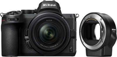 Nikon »Z5 + 24-50mm f4,0-6,3 + FTZ-Adapter« Systemkamera
