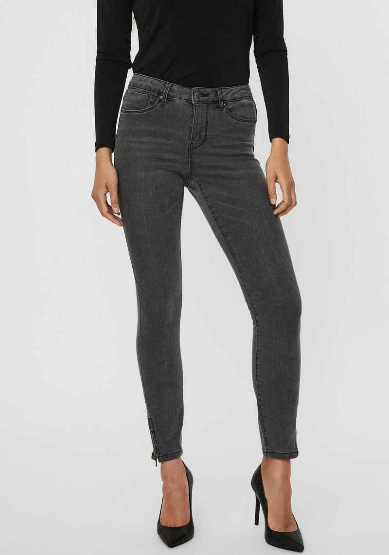 Vero Moda Ankle-Jeans »VMTILDE MR S ANK ZIP«