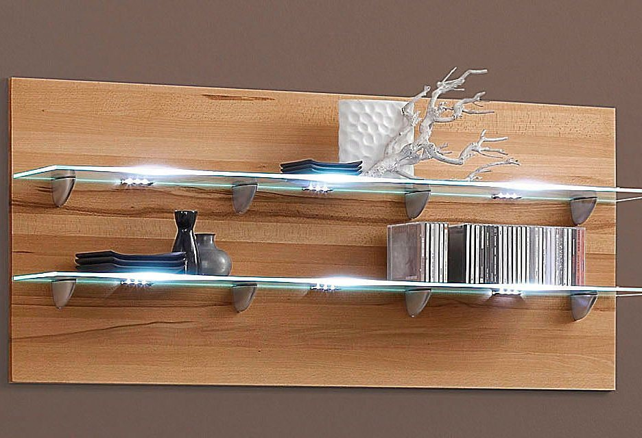 LED-Glaskantenbeleuchtung, HLT in weiß