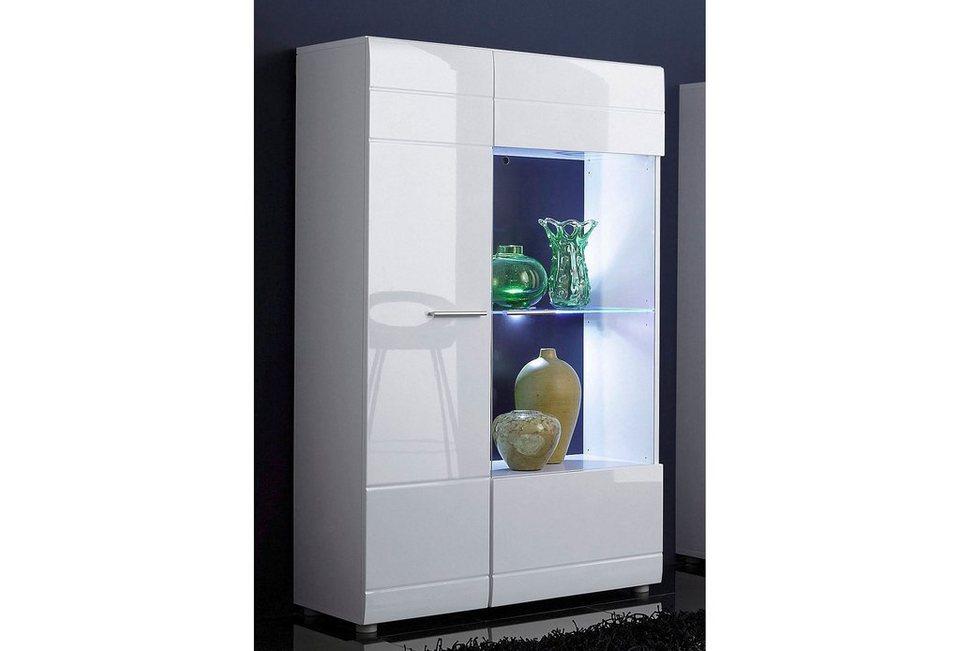 standvitrine h he 140 cm online kaufen otto. Black Bedroom Furniture Sets. Home Design Ideas