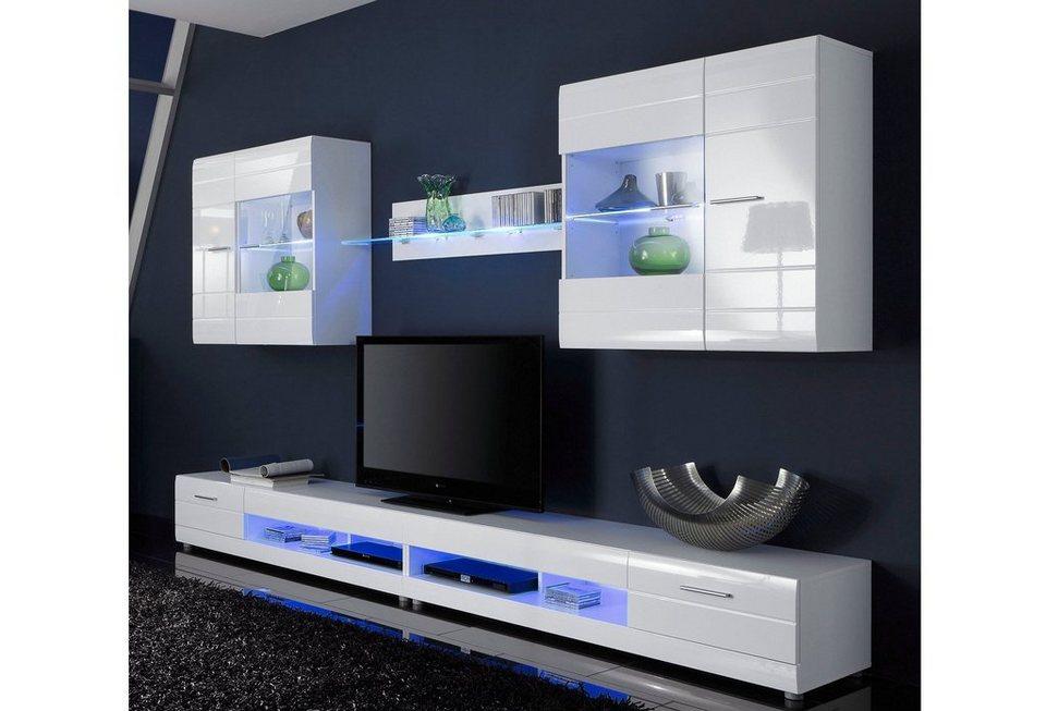 LED-Flexbandbeleuchtung, HLT in blau