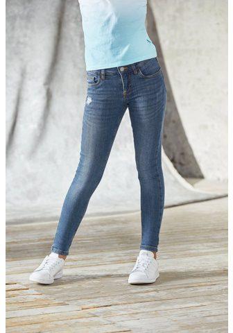 Bench. Stretch-Jeans su dezenten Abriebeffekt...