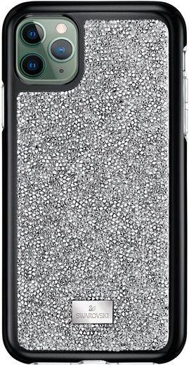 Swarovski Smartphone-Hülle »Glam Rock Smartphone Schutzhülle mit integriertem Stoßschutz, iPhone® 11 Pro, silberfarben, 5516873« iPhone 11 Pro, mit Swarovski® Kristallen