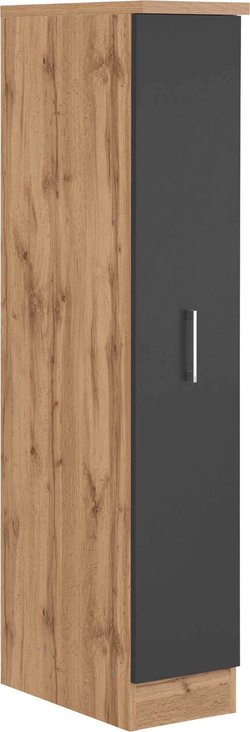 HELD MÖBEL Apothekerschrank »Colmar« 30 cm breit, 165 cm hoch, mit 3 Ablagen, mit Metallgriff