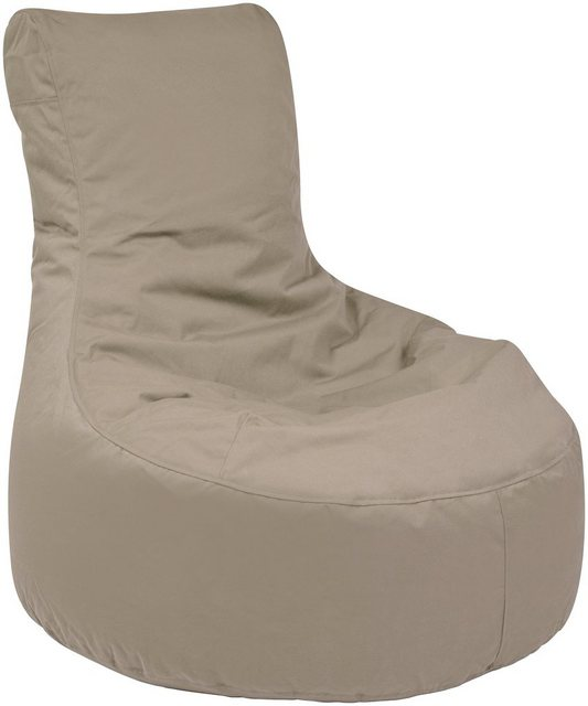 OUTBAG Slope Outdoor-Sessel Sitzsack plus mud (taupe)