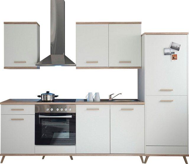 Einbauküchen - RESPEKTA Küchenzeile »Lebu«, mit E Geräten, Breite 330 cm  - Onlineshop OTTO