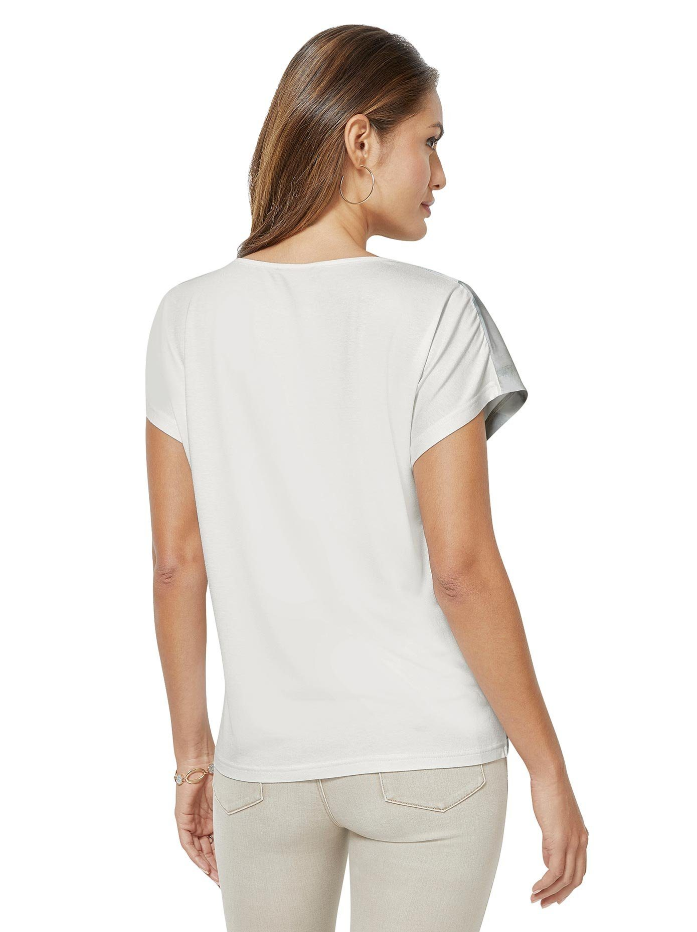 creation L Print-Shirt, floraler Druck