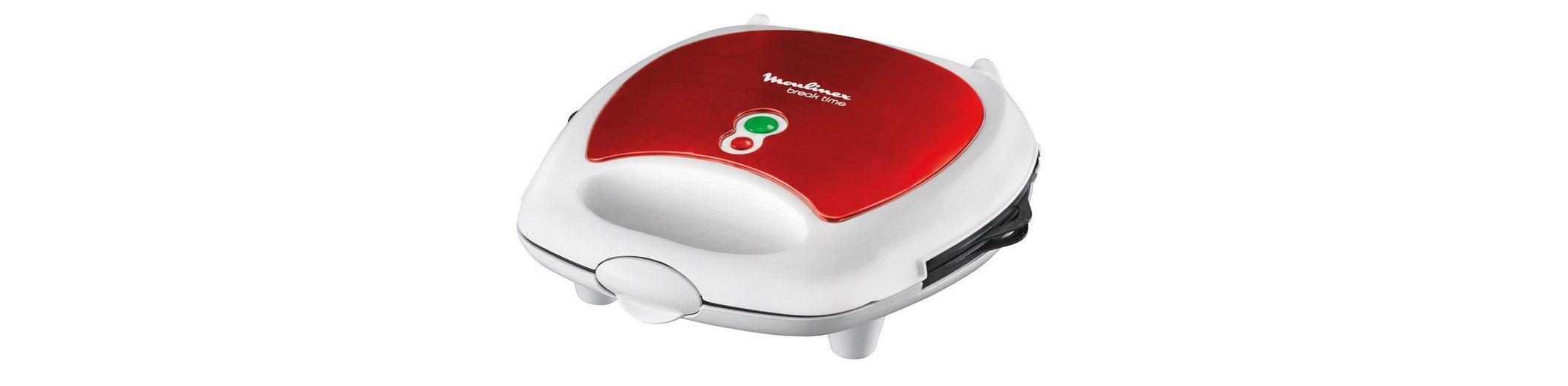 Moulinex 3-in-1 Snack-Kombigerät »Red Ruby SW6125«, 700 Watt
