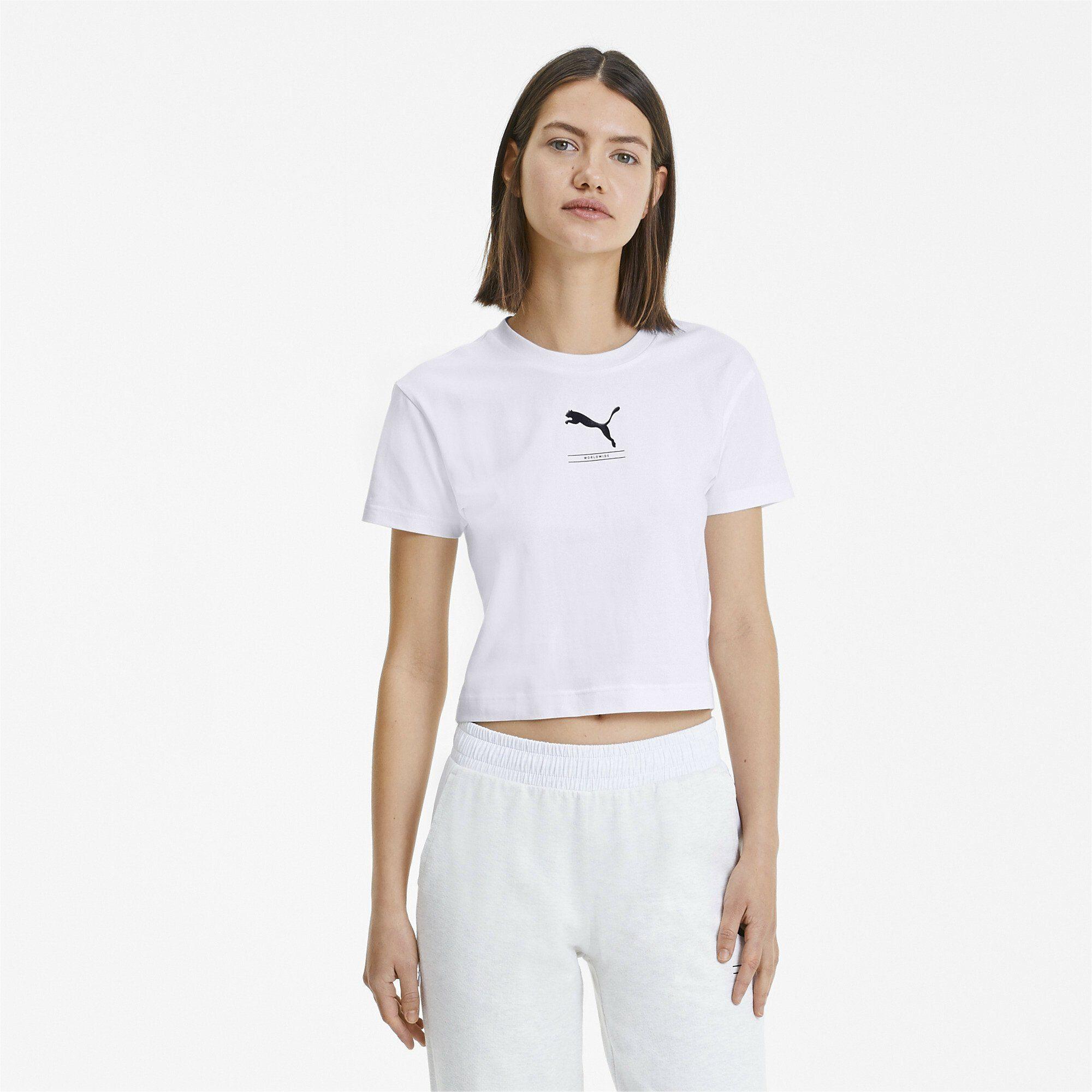 Damen PUMA T-Shirt »NU-TILITY Fitted Damen T-Shirt«  | 04062451065515